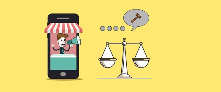 بررسی یک نمونه موردی تبلیغات پیامکی برای وکیلان و موسسههای حقوقی
