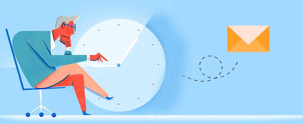اهمیت زمان ارسال در بازاریابی پیامکی