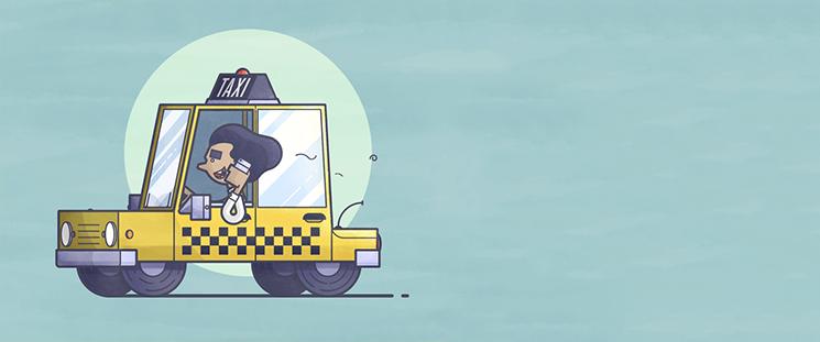 تخلفات تاکسیرانی و شکایت از تاکسی با یک اس ام اس