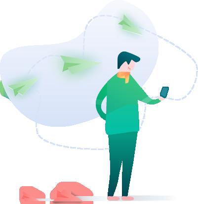 پیامک سبز، جایگزین پیامک سفید