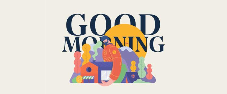 ۲۰ پیامک صبح بخیر به همسر با جملات عاشقانه