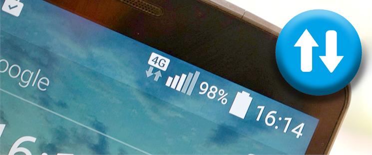 معنی علامتهای G, H+, E, 3G و LTE روی تلفن همراه چیست؟