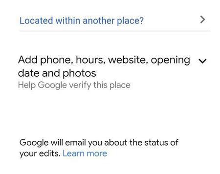 وارد کردن شماره تلفن در گوگل مپ