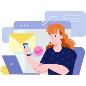 ارسال پیام با خط خدماتی