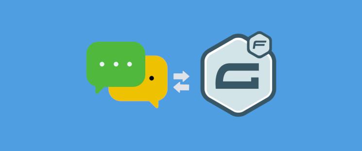 راهنمای اتصال گراویتی فرم به پیامک و ارسال کد تایید