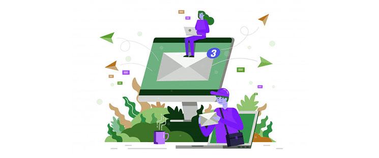 آموزش انتقال پیامکهای دریافتی به ایمیل