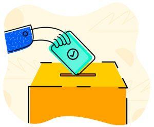 صندوق رای گیری انتخابات مجلس