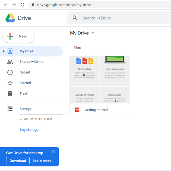 تبدیل عکس به متن با گوگل درایو
