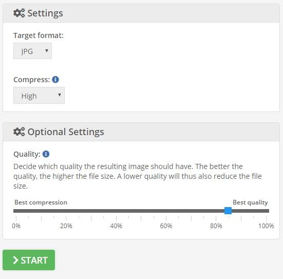 کاهش حجم تصویر آنلاین