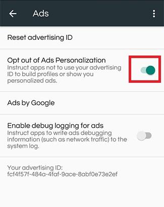 بلاک کردن تبلیغات گوشی