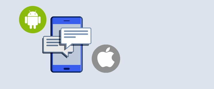 نرم افزارهای پیامک اندروید و آیفون