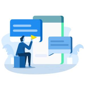 عملکرد سرویس پیام رسانی وب