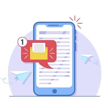 ارسال پیامک لینک دار